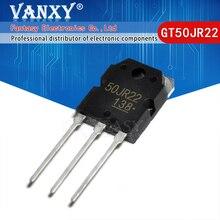 5Pcs GT50JR22 TO 3P TO247 50JR22 TO247 Igbt Transistor