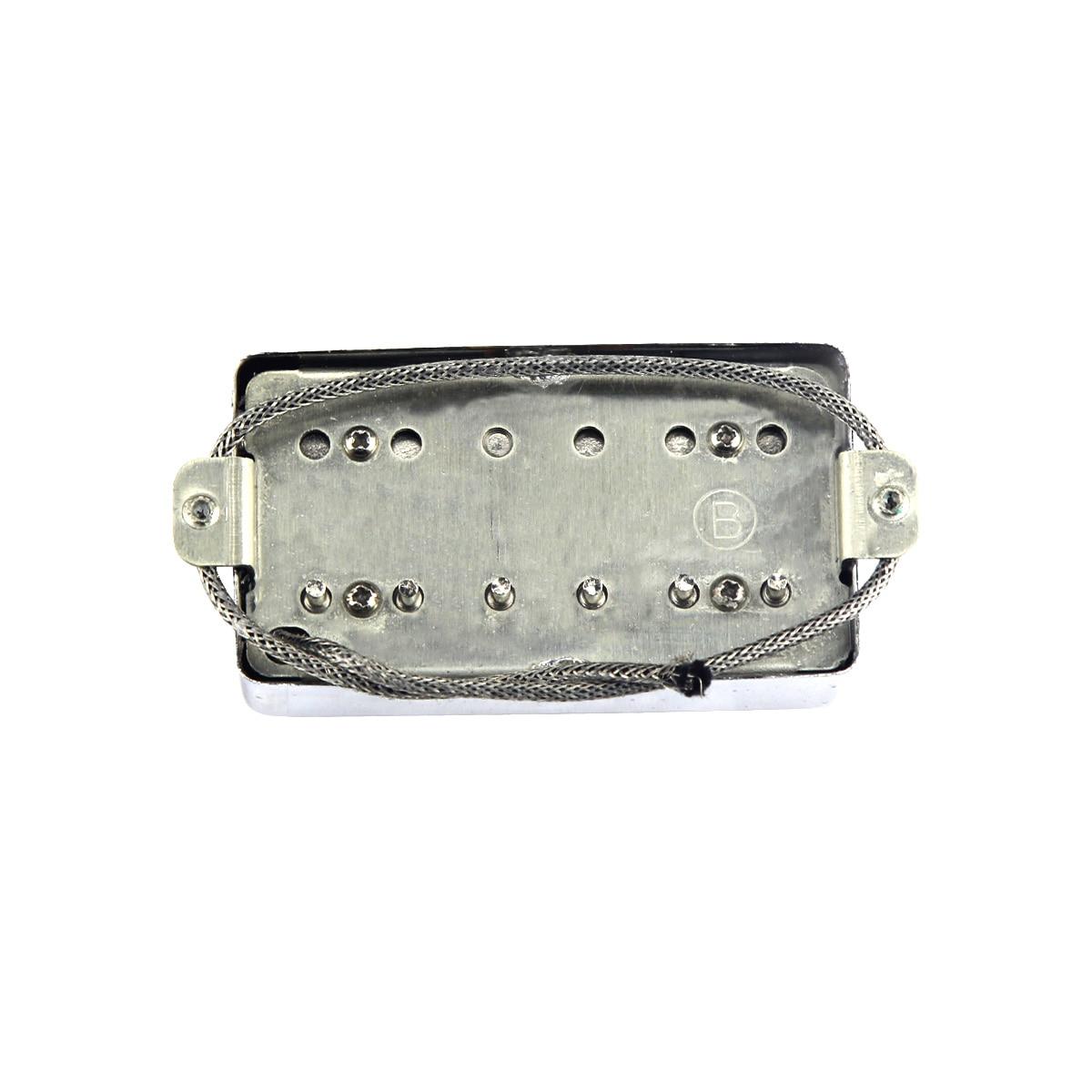 Image 5 - NEW Alnico 5 / V Humbucker Electric Guitar Pickup Chrome Neck or Bridge Pickup Choose For LP Style GuitarGuitar Parts & Accessories   -