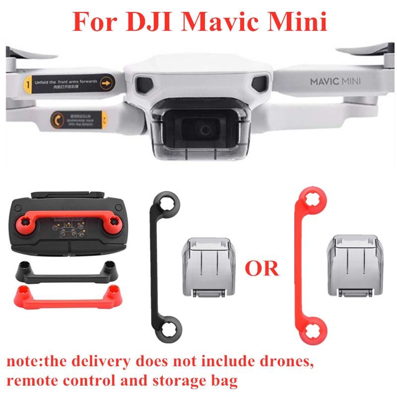 Dustproof Waterproof Lens Protective Cap Remote Controller Thumb Stick Guard Rocker Cover Mount Holder For DJI Mavic Mini Drone