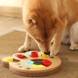 Dog Puzzle Toys Increase IQ Interactive Slow Dispensing Feeder Pet Cat Puppy Training Games Feeding Food Intelligence Toy