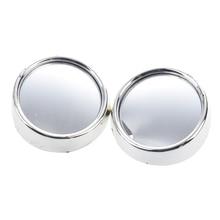 SODIAL(R) зеркало заднего вида с круглыми выпуклыми зеркалами 2 шт