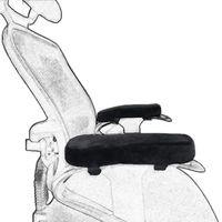 Новая одежда для маленькой девочки 2 шт./компл. пены памяти стул подушки-подлокотники Локоть Подушка для стула налокотники рельеф Поддержка ...