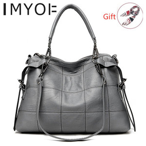 Image 1 - Fashion Designer Women Handbag Female Genuine Leather Bags Handbags Ladies Portable Shoulder Bag Office Ladies Causal Bag Totes