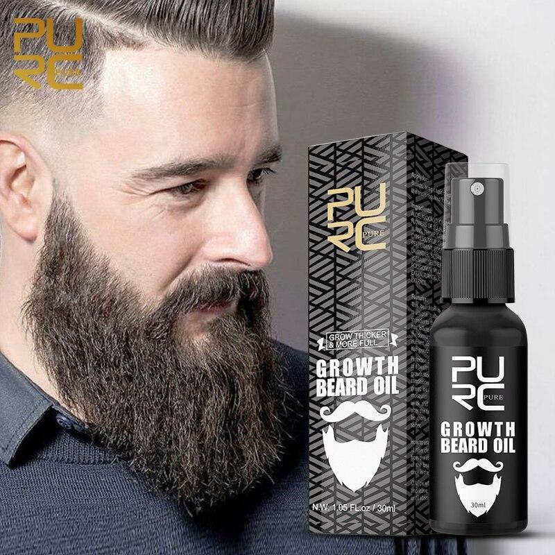 Olio per barba più spesso Spray crescita organica dei capelli Enhancer dell'olio più denso estensione dei capelli denso Re-crescita essenza prodotto per la perdita dei capelli 30ml