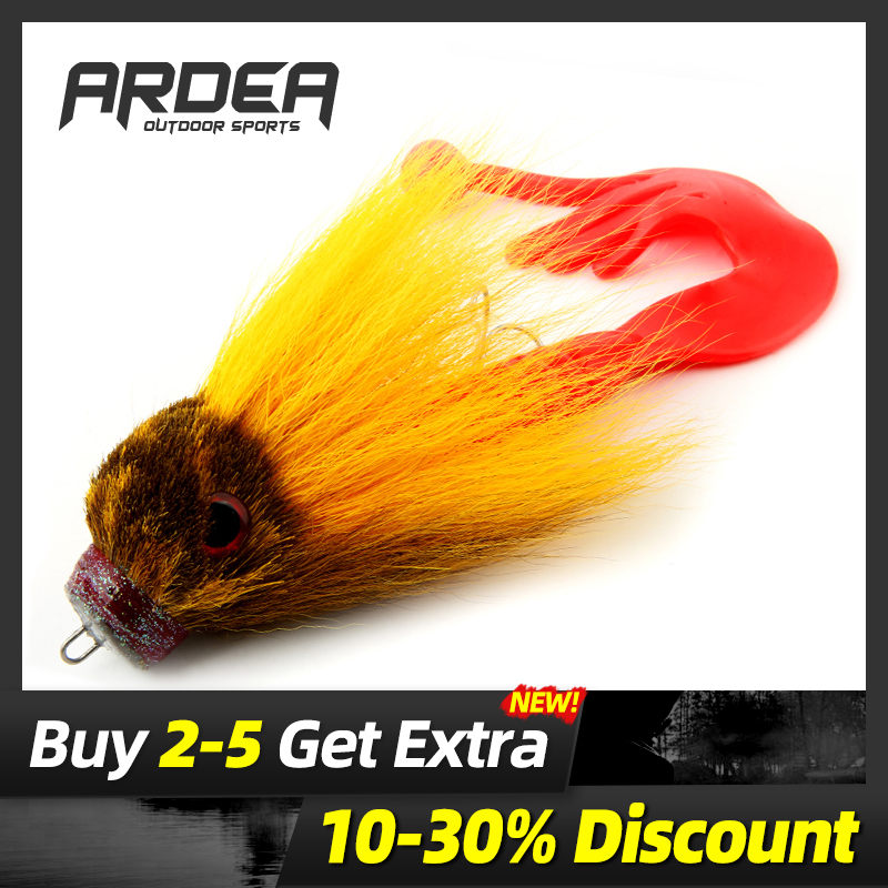 Deer Hair Mouse Topwater Lures Trout Bass Pike Fishing Fly Floating Rat Baits