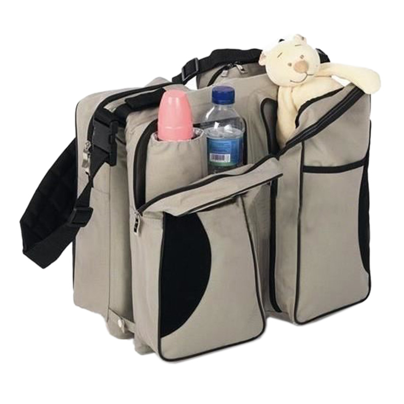 3-in-1 Mommy Changing Bag - Travel Bag - Cradle - Station
