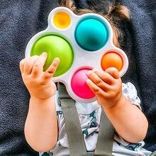 Planche d'exercices Montessori pour bébés, jouets colorés, Puzzle, développement de l'intelligence, éducation précoce, entraînement intensif