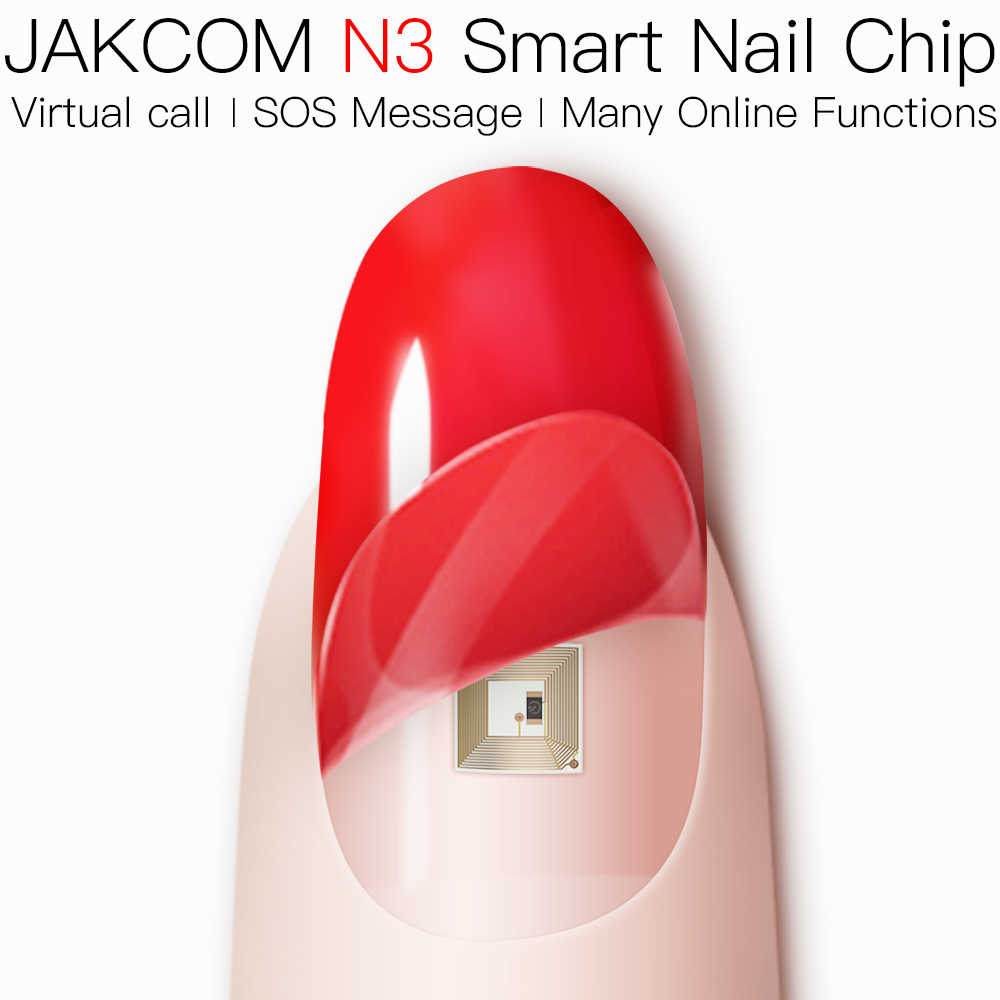 Jakcom N3 Smart Nail puce Flexible construit en matériau respectueux de la peau prend en charge l'appel virtuel SOS Message Android IOS disponible