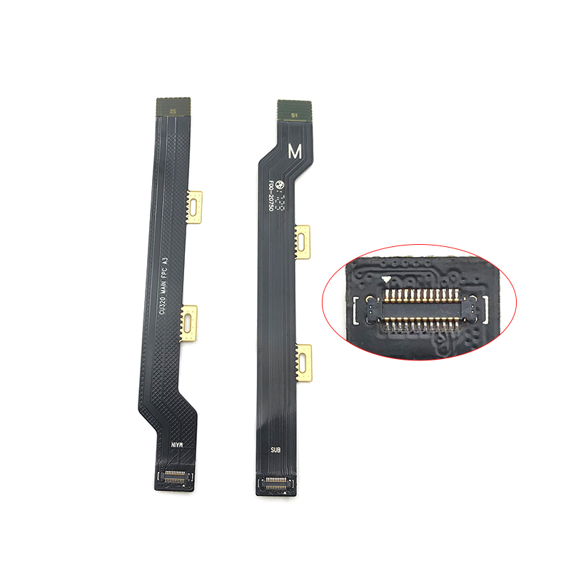 Main Motherboard LCD Connector Flex Cable For Lenovo Vibe C2 K10A40 Replacement Part