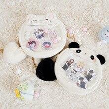 Cute Crossbody/ Ita bags/ Cartoon Cat Rabbit Panda Bag Clear Transparency Girls Shoulder Bag Handbag Cosplay Lolita Bags
