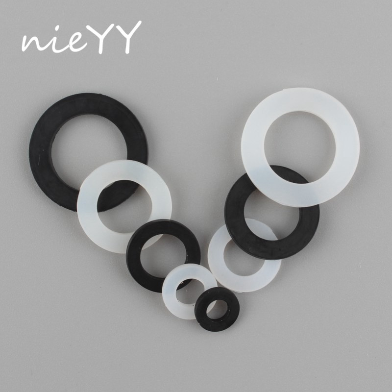 20pc 1/4 3/8 1/2 3/4 1 Inch Silicone Seal Gasket O Ring Seal Bellow Tube Washer Ring Shower Seal Plumbing Faucet Hose Water Seal