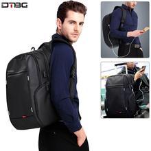 DTBG Anti Theft Nylon 27L Men 15.6 inch Laptop Backpacks School Fashion Travel Male Mochilas Feminina Casual Women Schoolbag
