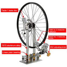 Bicycle-Wheel Wheel-Repair-Tool Truning-Stand Road-Bike MTB Professional with Dial-Indicator