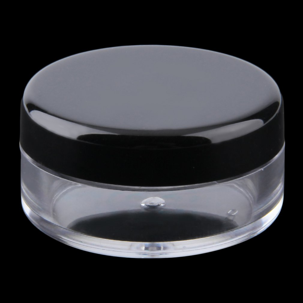 5pcs/set Top Quality Cosmetic Empty Jar Pot Eyeshadow Makeup Face Cream Lip Balm Container Drop Shipping Wholesale