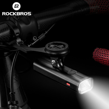 ROCKBROS 2500mAH велосипедная фара Usb перезаряжаемая велосипедная фара Водонепроницаемая велосипедная фара для езды на велосипеде Аксессуары для ...