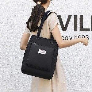 Водонепроницаемый стильный рюкзак для ноутбука, женский рюкзак 13 13,3 14 15 15,6 дюйма, корейская мода, оксфордская ткань, USB, школьная сумка для же...