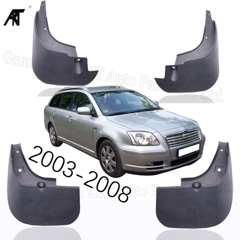 Garde-boue pour toyota Avensis T25 2003-2008 garde-boue avant arrière moulé garde-boue garde-boue garde-boue garde-boue garde-boue
