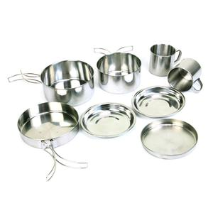 8pcs/Set Stainless Steel Camp