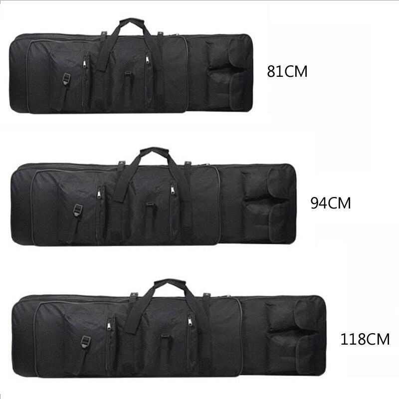 Hunting Rifle Gun Case 81/94/118cm Gun Bag Tactical Military Bag Airsoft Holster Rifle Army Gun Carry Sport Protection Backpack