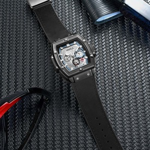 Image 5 - ONOLA tonneau kwadratowy automatyczny zegarek mechaniczny mężczyzna luksusowa marka unikalny zegarek na rękę moda casual klasyczny projektant zegarek męski