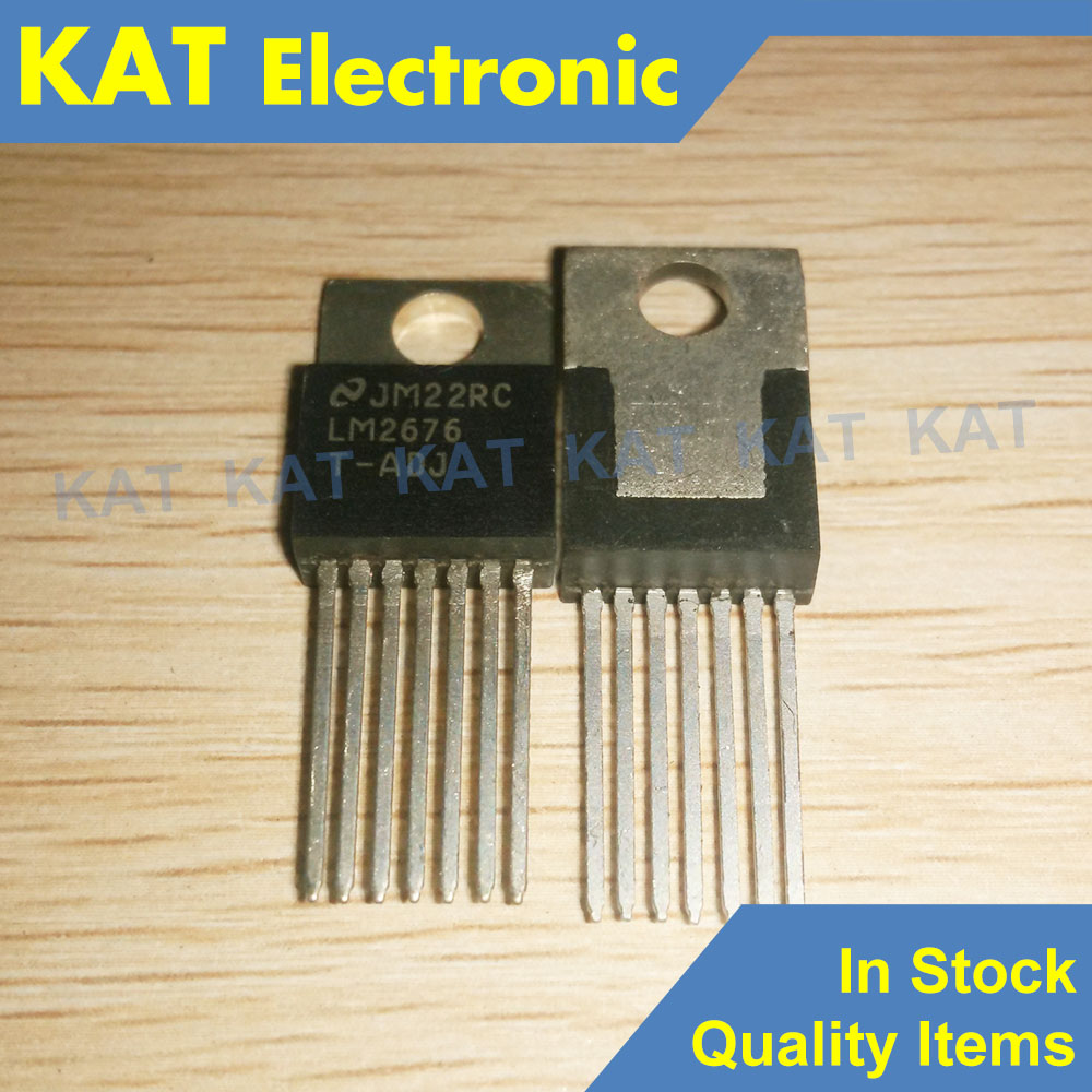 LM2676T-ADJ LM2676T TO-220-7 SIMPLE SWITCHER High Efficiency 3A Step-Down Voltage Regulator