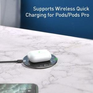 Image 5 - Baseus 15W Drahtlose Ladegerät Für iPhone 11 X XS Max XR Airpods Pro Qi Drahtlose Schnelle Lade Pad Für samsung S10 S9 S8 Xiaomi