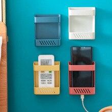 Mini półka ścienna pilot schowek pokój organizator kuchnia biurko ze schowkiem nocne półki na telefony komórkowe pojemniki