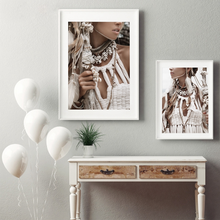 Настенная живопись на холсте Постер красивой девушки Художественная