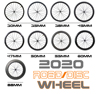 HULKWHEELS Disc Brake carbon wheels 700C T800 carbon fiber bike carbon wheelset clincher tubeless carbon bicycle wheels