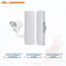 COMFAST amplificador de señal WIFI para cámara ip, amplificador de señal wifi de 3 5km 300Mpbs, puente AP inalámbrico de largo alcance CPE 2,4G y 5,8G