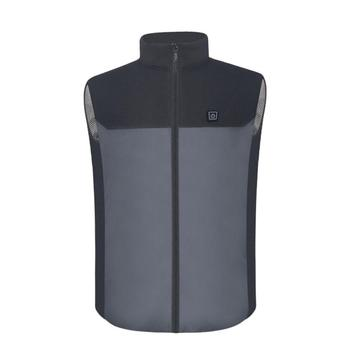 Winter Warm USB Electric Heated Vest Top 5V Charging Heating Clothes For Outdoor Motorcycle Camping Bike Riding Hunting Golf