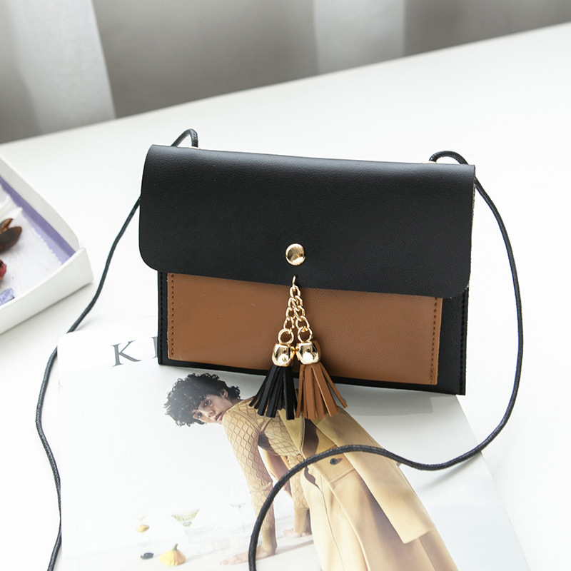 Tassels Double Layer Small Bag 2018 Summer And Autumn Sweet Ladies' Want To New Style Shoulder Purse