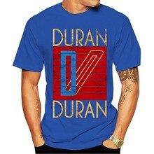 Duran logotipo preto legal 2021 ano novo ocasional de manga curta masculina t-shirt masculina unissex nova orgulho modatopos