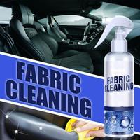 Limpiador de Interior de coche, asiento de cuero, tela de terciopelo, elimina manchas de película de aceite, muebles, lona, 30ML/100ML/256ML Líquido de limpieza