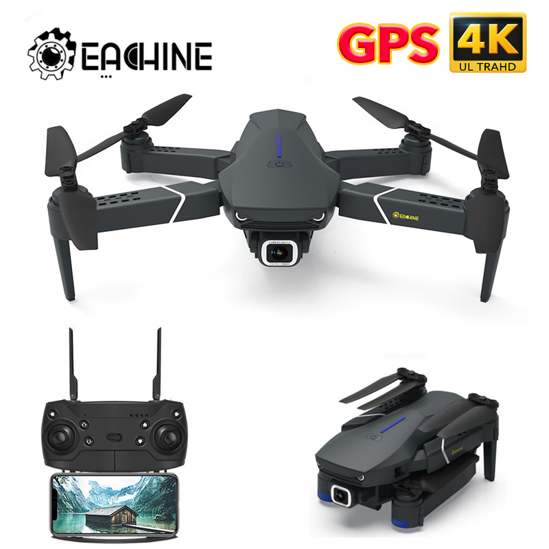 Eachine E520 E520S RC Quadcopter Drone WIFI FPV With 4K 1080P HD Professional Wide Angle Camera High Hold Mode Foldable Dron Toy