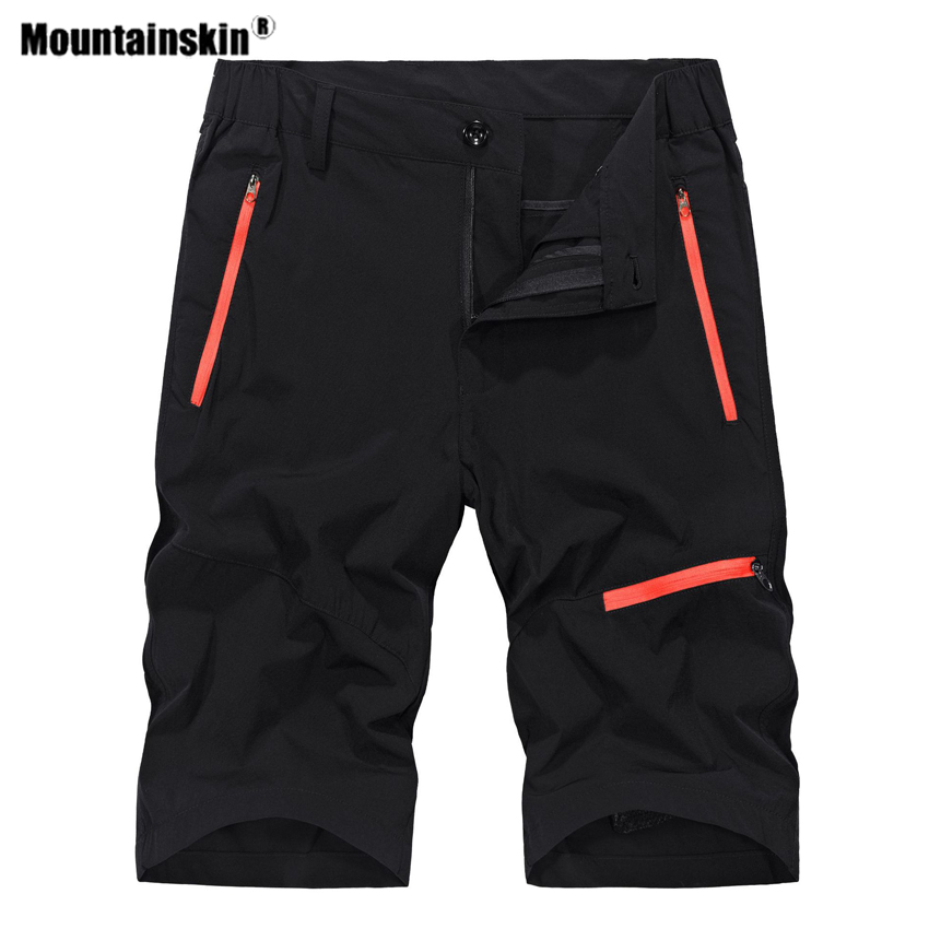 Mountainskin Men's Summer Quick Dry Hiking Shorts Outdoor Sports Breathable Trekking Camping Fishing Running Male Trousers VA576