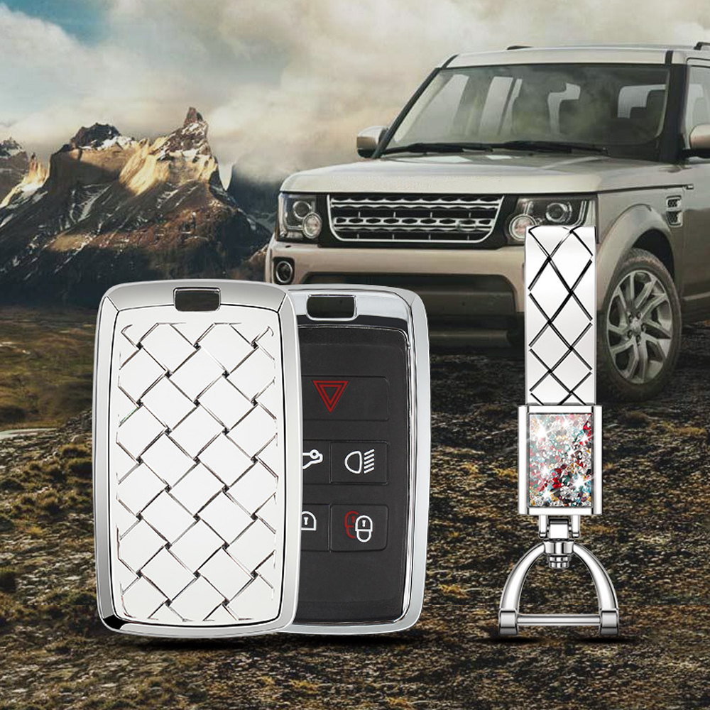 Key Shell Case Cover Trim for Land Rover Defender Discovery 4 Sport Ranger Rover