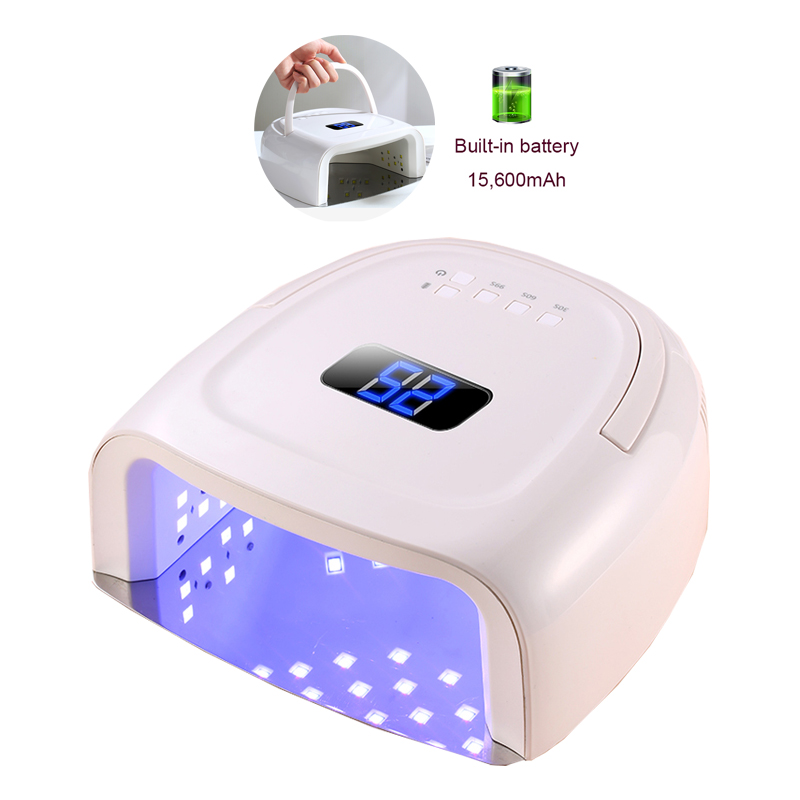 2019 New Upgraded Rechargeable UV Nail Lamp Wireless Nail Art Gel Cordless Gelpolish Dryer Gel Nail Polish LED Lamp