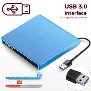 Kuwfi Burner-Player Cd-Reader Laptop DVD-ROM Usb-3.0-Drive External Portable Windows7/8/10