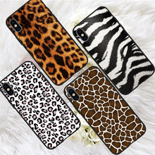 Leopard luxury For iPhone X XR XS Max 5 5S SE 6 6S 7 8 Plus Oneplus 5T Pro 6T phone Case Cover Coque Etui funda capinha capa karl lagerfeld for iphone x xr xs max 5 5s se 6 6s 7 8 plus oneplus 5t pro 6t phone case cover funda coque etui funda capa cute