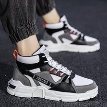 Высокие мужские кроссовки для бега удобные дышащие Нескользящие
