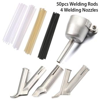 54pc Round Triangle Speed Nozzle for Welding Plastic Hot Air Gun Kit For Welding Nozzle Tip Welding Vinyl Welder Welding Rods