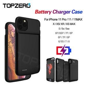 Чехол для iphone 5 5s se батареи 6 6S 7 8 Plus, зарядное устройство для iPhone X XS XR XS MAX 11 Pro MAX