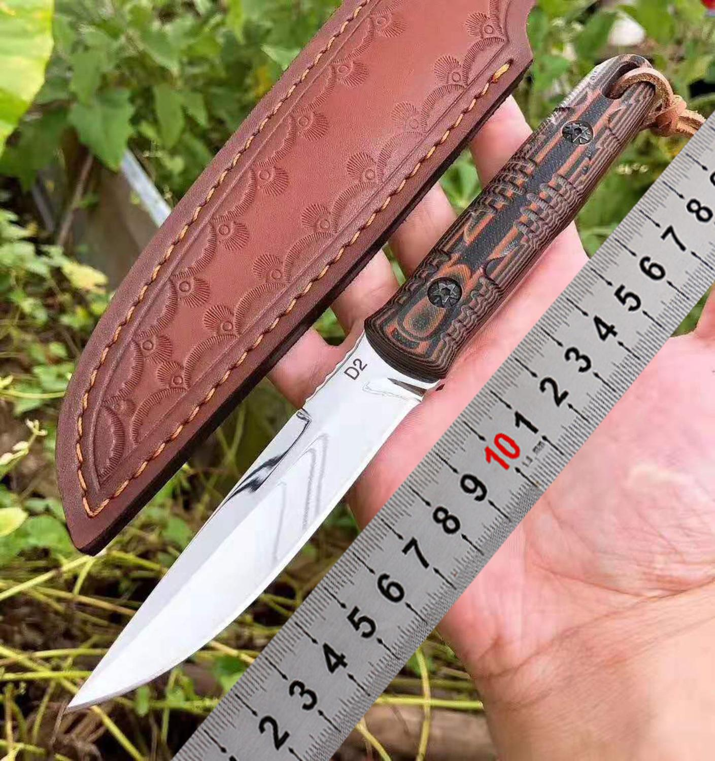 fixed blade Hunting outdoor Camping Tactical Survival Hunting <font><b>Knives</b></font> Rescue EDC Tool straight <font><b>knife</b></font> image