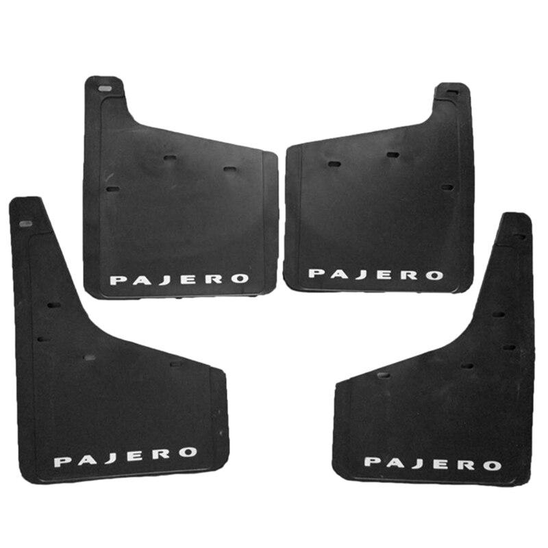 4 шт. передние и задние колеса для Mitsubishi Pajero Montero - 2015 2016 2017 2018 набор для защиты от брызг