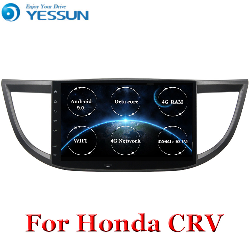 Android 9 4G RAM Octa core DSP Car Radio Multimedia Audio Player Navigation <font><b>GPS</b></font> For <font><b>Honda</b></font> <font><b>CRV</b></font> 2012 2013 <font><b>2014</b></font> 2015 2016 image