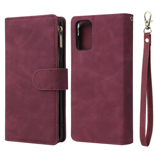 Flip Leather Coque for Samsung S20 FE Case Note 20 Ultra Wallet Cover for Samsung Galaxy S 20 Plus S10 E Note 10 Lite S9 S8 Etui