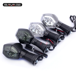 Kierunkowskaz LED światło dla SUZUKI DRZ400E DRZ400S DRZ400SM GSX650F GSX1250FA SFV 650 motocykl włączanie lampka migacza