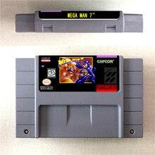 MEGA MAN 7   Action Game Card US Version English Language