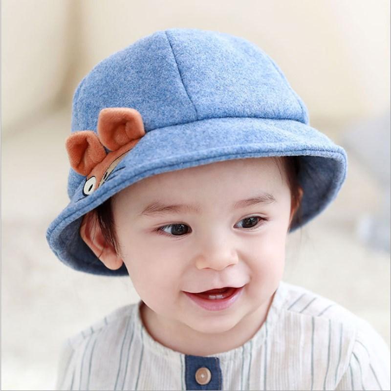 Cute Baby Girl Boy Autumn Winter Outdoor Hat Lovely Cartoon Shape Kid Warm Comfortable